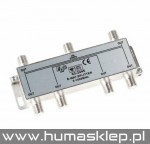 Złącze SAT 6 way splitter 5-1000MHz