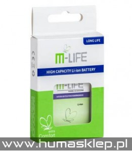 Bateria M-life do Samsung Galaxy ACE S5830 1800mAh small box