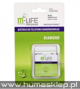 Bateria M-LIFE do HTC SENSATION G14 1800mAh