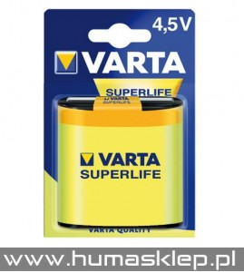 3R12 4,5V 1szt.blist VARTA Bateria Superlife