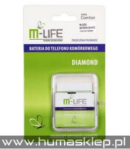 Bateria M-LIFE do HTC TOUCH HD 1950mAh