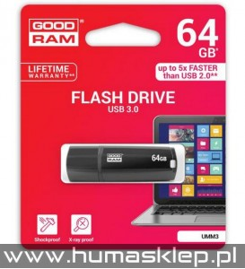 Pendrive Goodram UMM3 USB 3.0 64GB Flash Drive
