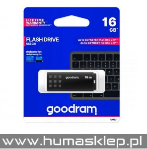 Pendrive Goodram USB 3.0 16GB czarny
