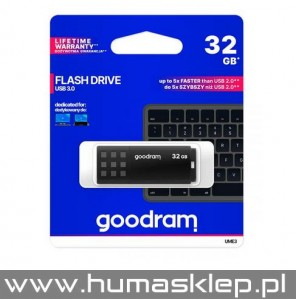 Pendrive Goodram USB 3.0 32GB czarny