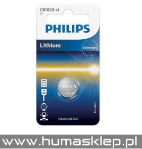 CR1620 Philips Bateria litowa DL1620