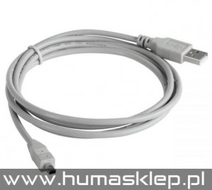 Kabel USB AM-BM mini USB do HP