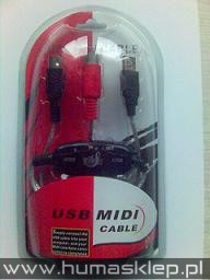 KABEL WTYK USB MIDI IN.OUT KONWERTER