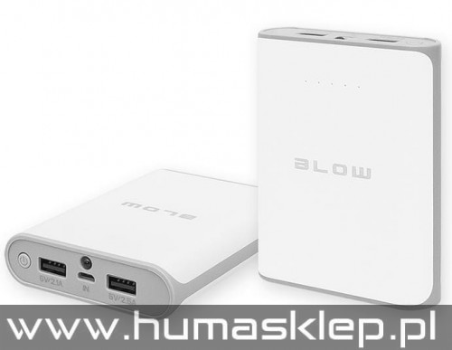 Power Bank 14000 mAh 2xUSB PB14 BIAŁY
